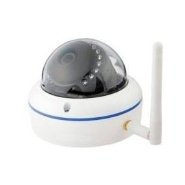 Ø100 Dome HD WIFI IP Kamera, udendørs, 15m