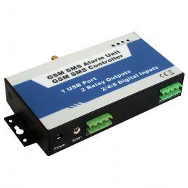 GSM SMS alarm med motorstyring