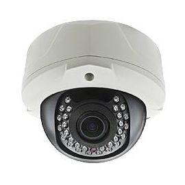 Dome HD IP kamera med zoom - 25m - 1.3MP-5.0MP