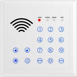 Trådløst tastatur med RFID og batteribackup